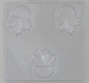 Lönnblad kruktassar - gjutform