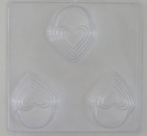 Hjärtan kruktassar - gjutform