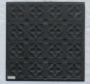 Plåtkakel svart 31,2 x 31,2