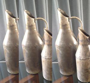 Vas/Vattenkanna aged silver