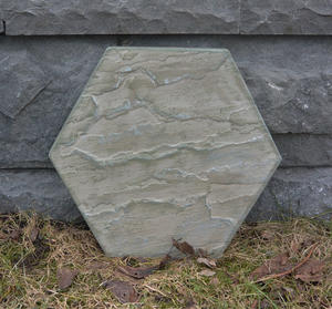 Hexagon - målad