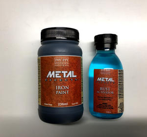 Iron Paint  och Rust Activator set