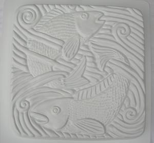 Fisk i vatten - gjutform