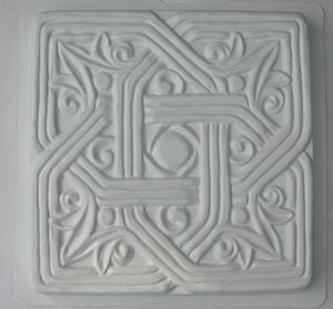 Gotich kvadrat - gjutform