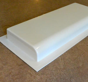 Exklusiv rektangulär - gjutform