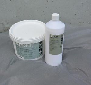 Jesmonite Pulver 2,5 kg - Jesmonite flytande 1 kg